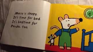 Repeat youtube video Nobody's Book #6: Maisy's Bedtime