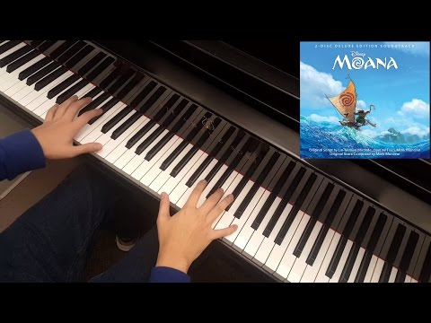 [Moana] [Instrumental] Auli'i Cravalho - How Far I'll Go (Piano Cover)