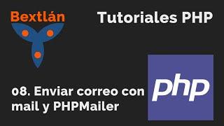 Tutoriales PHP: 8. Enviar correo con mail y PHPMailer Mp3