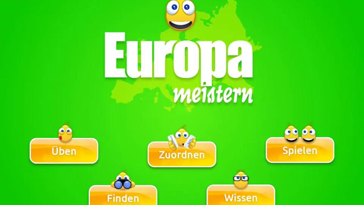 Europa Meistern Länder Hauptstädte Flaggen Europas Im Handumdrehen Lernen