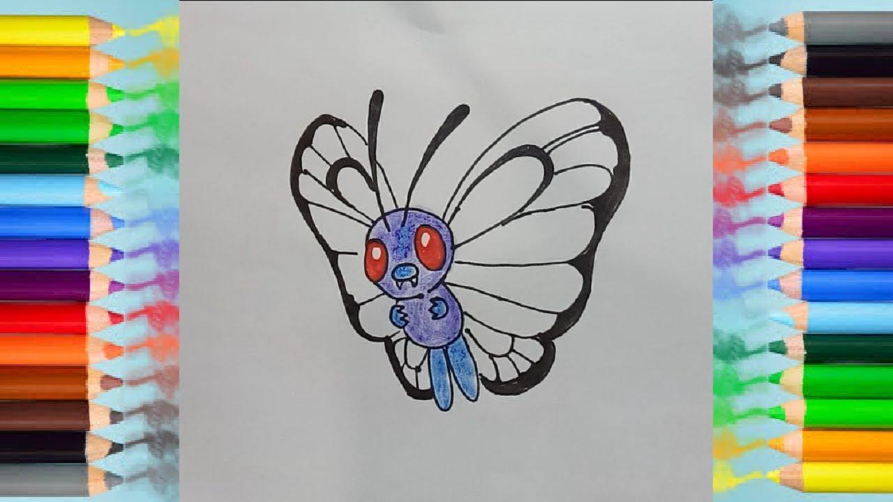 Coloring page Gigantamax Pokémon : Gigantamax Butterfree 4 | 720x1280
