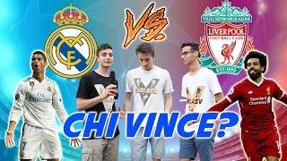 Real Madrid Vs Liverpool - I Pronostici Sul CALCIO Degli ITALIANI ● Interviste Champions League