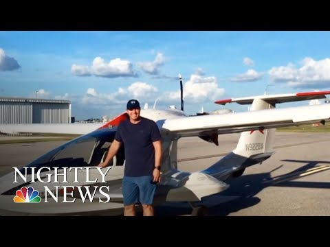 New Video Shows Roy Halladay Plane Crash | NBC Nightly News