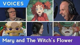 GKIDS VOICES | Mary and The Witch's Flower: English Dub Production