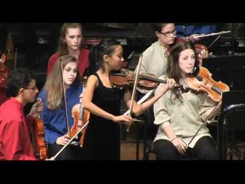 Anna Da Silva Chen - QYS - Violin Concerto No2. in D minor 1st mvt. - Henri Wieniawski