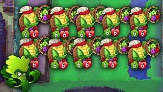 (WORLD RECORD) Cornucopia All Lanes Team-Up🤯[INSANE Challenge] PvZ Heroes Plants vs Zombies Heroes