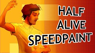 half alive speedpaint