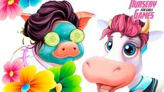 Веселый доктор лечит животных на ФЕРМЕ|Мультик игра про БОЛЬНИЦУ|Animal care kids games