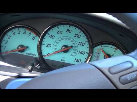 2004 Toyota Solara High Engine RPM First start in the Morning