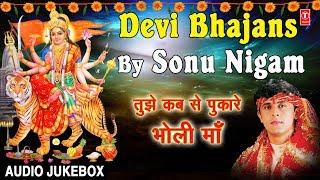 शुक्रवार Special Devi Bhajans I SONU NIGAM I Tujhe Kab Se Pukare Bholi Maa I Audio Songs Juke Box