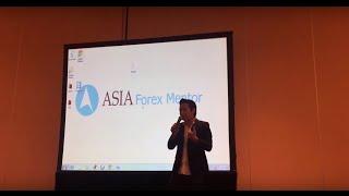Forex Mentor Ezekiel Chew Speaks at Forex Finance Investment Expo