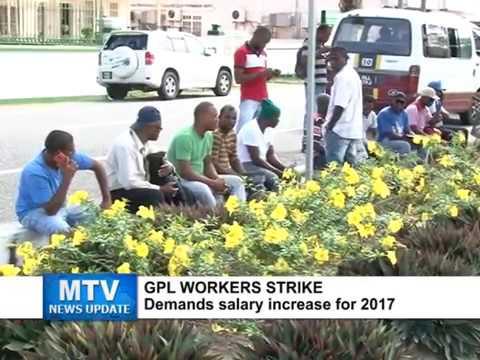 MTV News Update Dec. 19, 2016 - GPL DISTRIBUTION/MAINTENANCE WORKERS STRIKE