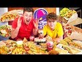 BROTHERS TRY EVERYTHING ON THE TACO BELL MENU *NEW*