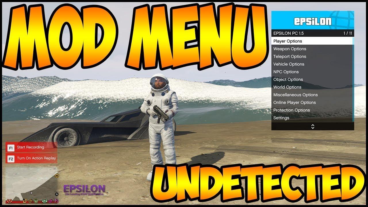 mod menu gta online pc