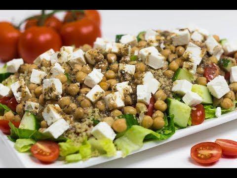 Mediterranean Chickpea and Quinoa Salad
