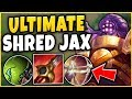 THIS CHALLENGER JAX JUNGLE BUILD HAS INSANE DAMAGE! - S9 JAX GAMEPLAY! - League of Legends