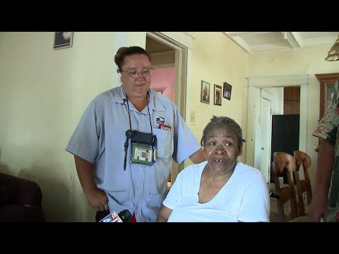 Mark - Georgians donate an air conditioner to 111 year old woman who never had one