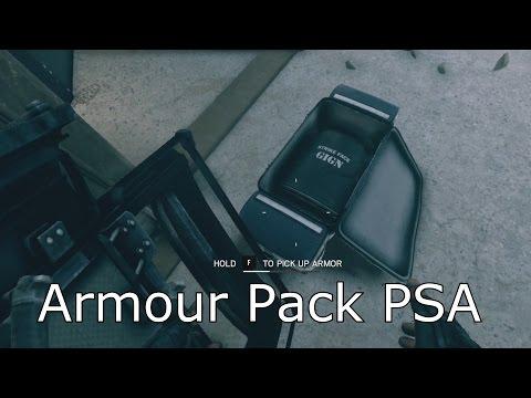 Armour Pack PSA - Rainbow Six