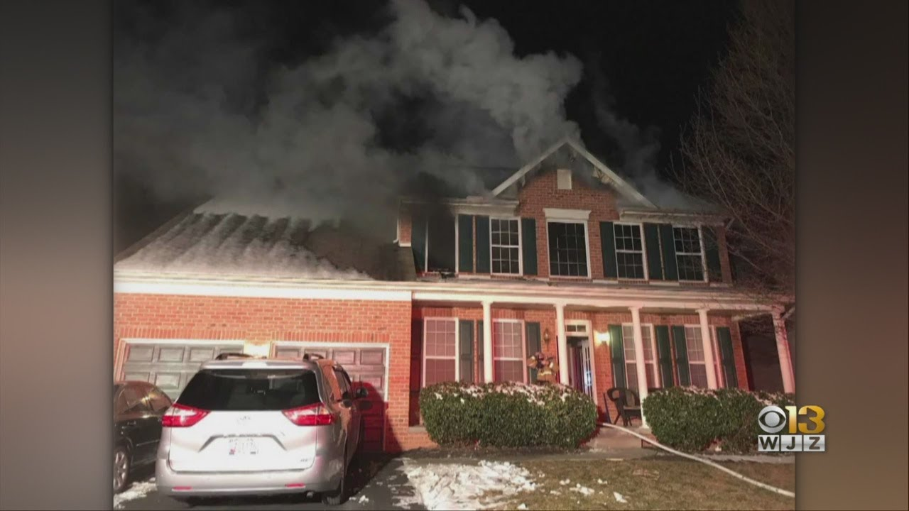 Family Safe Following Frederick House Fire, Credit Smoke Alarms