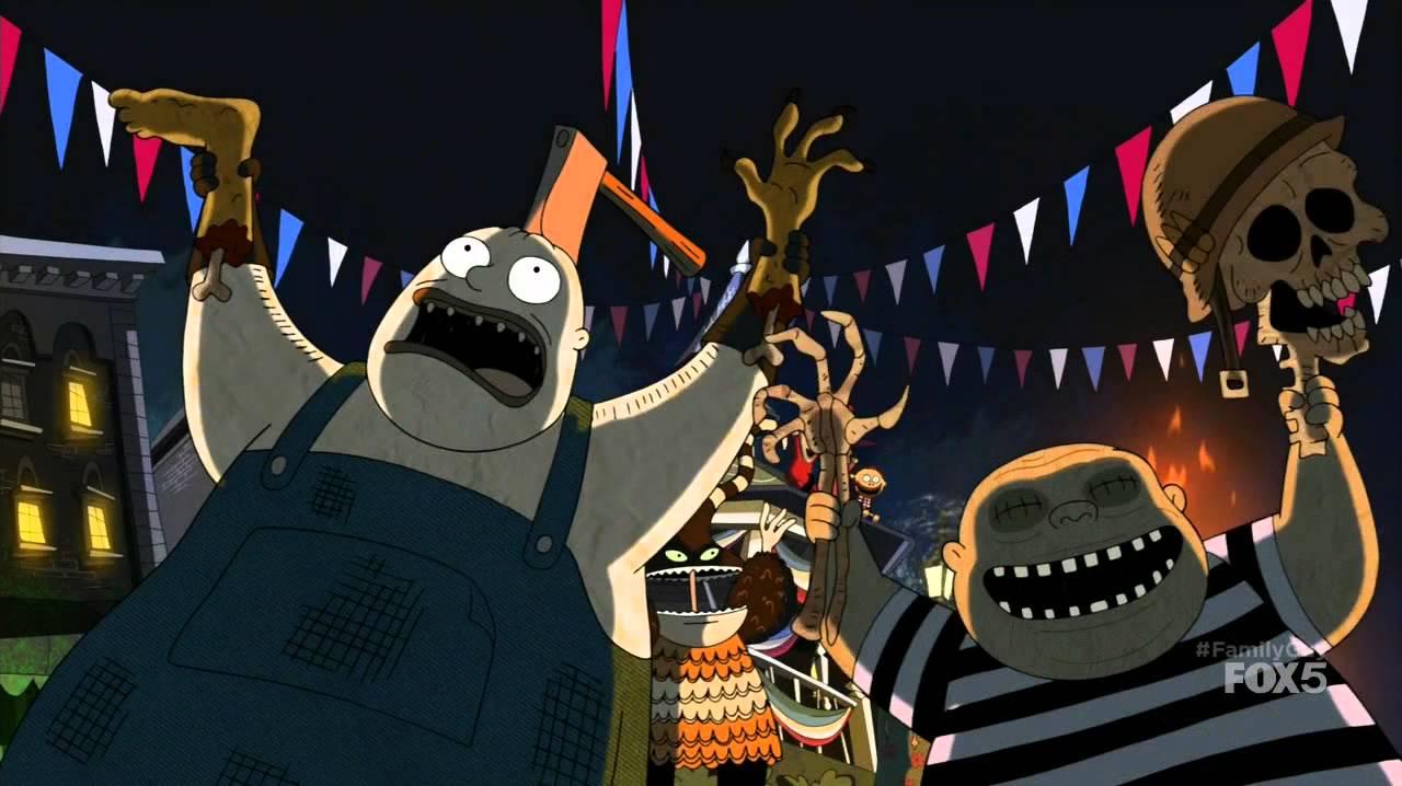 Family Guy, Happy 4th of July Jack Skellington - YouTube