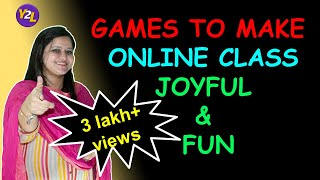 How To Make Online Class Interesting Through Games For Primary Kids 5 Games For Online Class Youtube