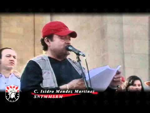 C. Isidro Mendez Martinez del SNTMMSRMClausura de Jornada Internacional19-02-11
