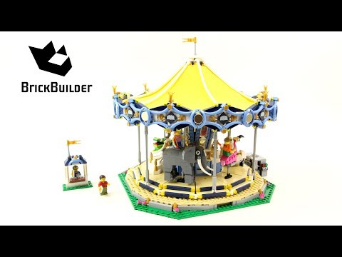 Lego Creator 10257 Carousel - Lego Speed Build