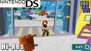 Disney Kim possible: Kimmunicator - Nintendo DS Juego de Alta Resolución (DeSmuME)