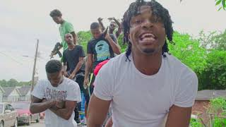 Slim Santana Ft. Ola Runt & YSL Benji - Guns Up (Official Music Video)