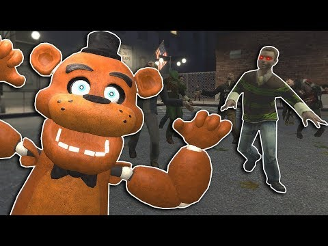 ZOMBIE SURVIVAL ESCAPE IN THE CITY! - Garry's Mod Gameplay - Gmod Zombie Apocalypse thumbnail