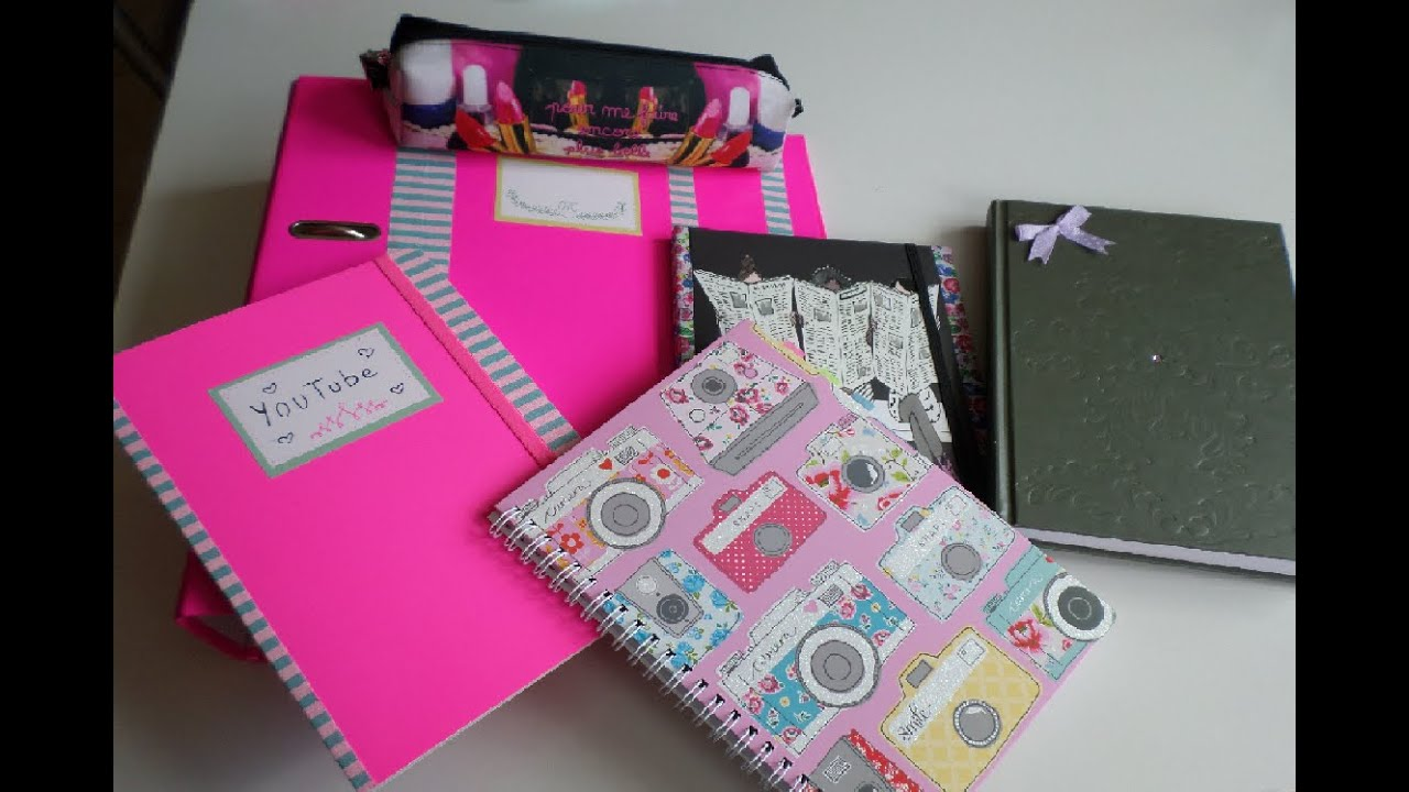 Super ♡ Back to School- DIY idée personnalisation fourniture - YouTube YI81