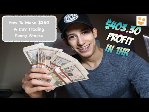 $403.30 Profit In 1hr: How To Trade Penny Stocks: $DRYS, $INNL, $BNTC | Episode 63