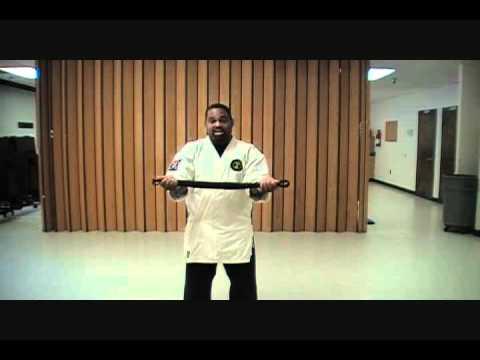 Kuroshi-do, How to  tie your  belt  Sensei  Ian Evans