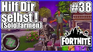Fortnite Rette die Welt PvE Modus #38 Kann man in Fortnite Solo farmen? [gameplay deutsch german PC]