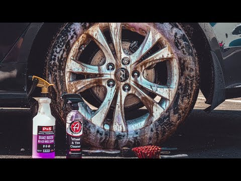 P&S BRAKE BUSTER VS ADAMS WHEEL & TIRE CLEANER: ARE THEY BETTER THEN IRON REMOVER AT 1/3 THE COST?