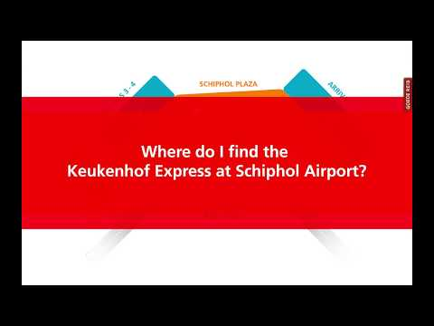 How to get from Schiphol to Keukenhof