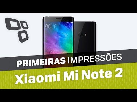 Xiaomi Mi Note 2 - Primeiras Impressões [TecMundo]