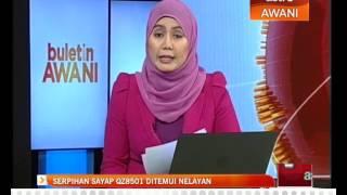 Serpihan sayap QZ8501 ditemui nelayan