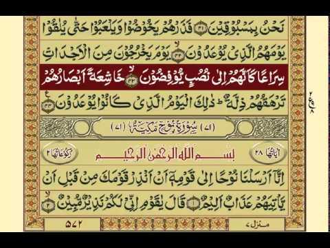 Quran-Para 29/30-Urdu Translation