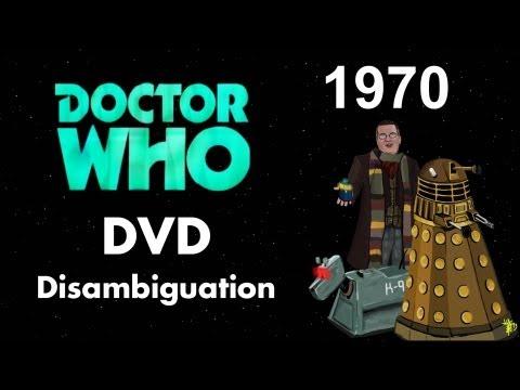 Doctor Who DVD Disambiguation - Season 7 (1970)