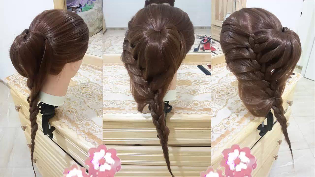 peinados faciles bonitos y rapidos con trenzas para nia con cabello robio largo de moda with peinados de nia faciles