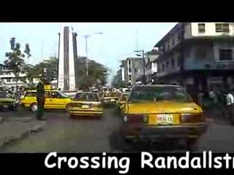 "A ride Through Liberia's Capital City ""Monrovia"""