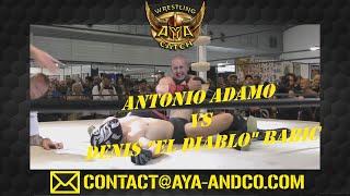 FULL MATCH ANTONIO ADAMO Vs DENIS EL DIABLO BABIC TATTOO CONVENTION MAI 2019 MONTPELLIER