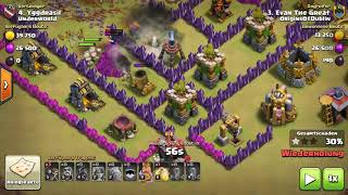 Clash of Clans Clash with Underworld Clankrieg 13 Sieg in Folge Teil 2 + Infos Deutsch / German