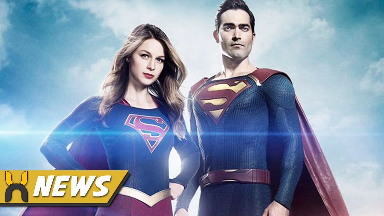 Superman and Supergirl in a Romantic Scene - YouTube