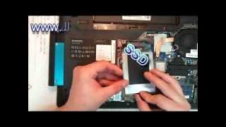 Laptop hdd + ssd upgrade install Replace DVD with HDD module bay