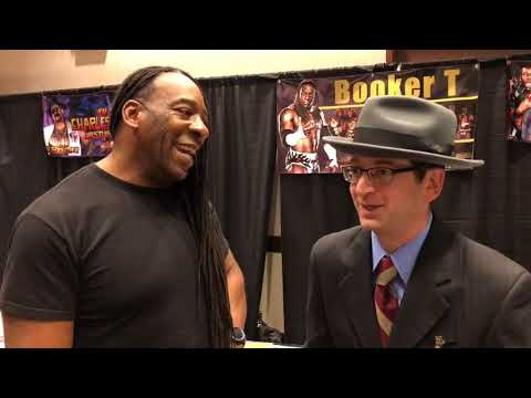Catching up with WWE legends Booker T and Eric Bischoff at Astronomicon