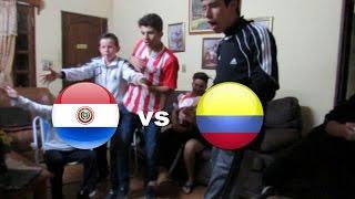 PARAGUAY (0) VS COLOMBIA (1) | Reacciondo al partido