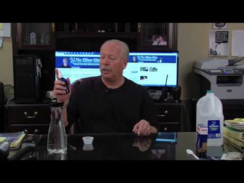 Heal Eye Infections With Colloidal Silver