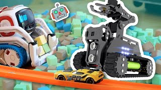 Cozmo SAVED by Tank and Hot Wheels Car